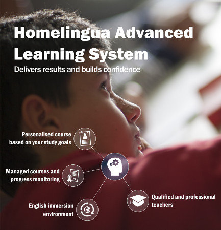 Homelingua advanced learning system