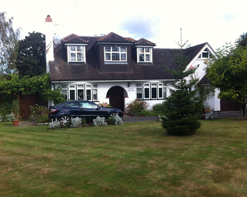 English language homestay home tuition Surrey business