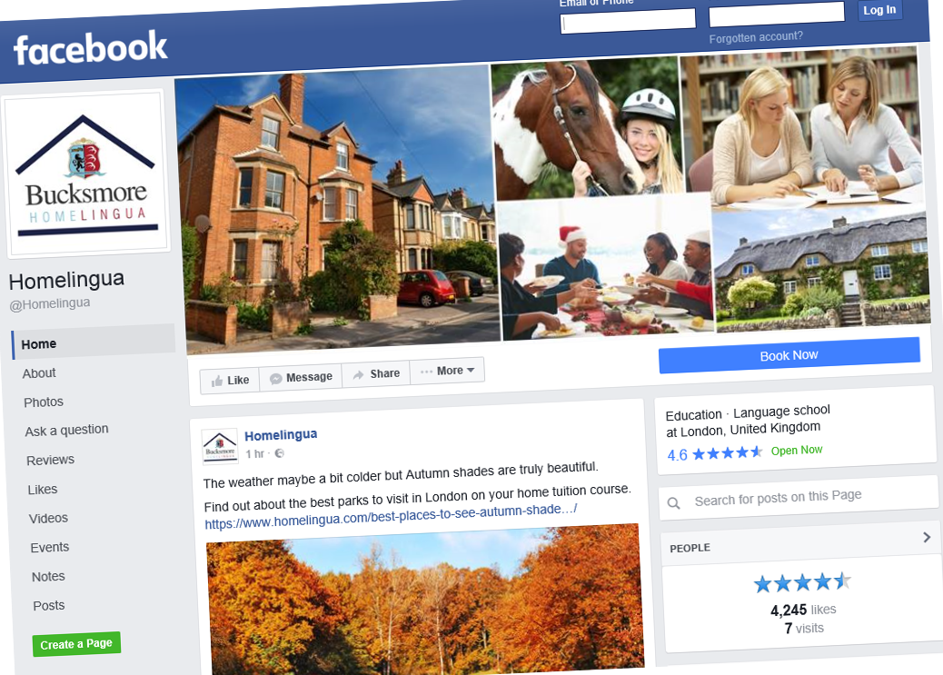 Keep in touch! Like our Facebook page