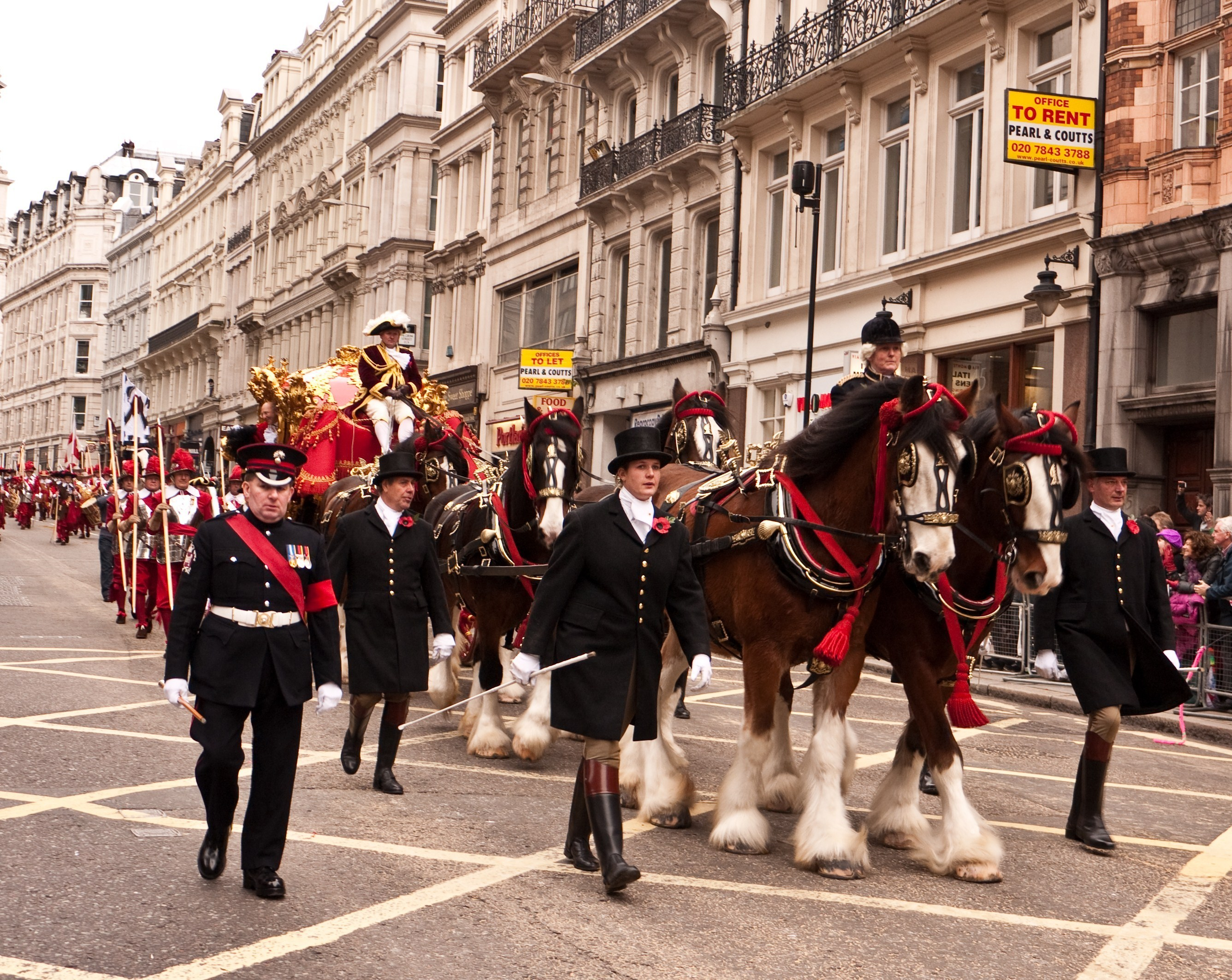 The spectacular Lord Mayor's Show