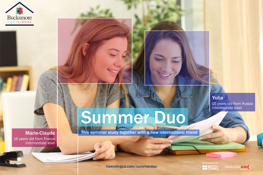 Summer Duo study with a new international friend